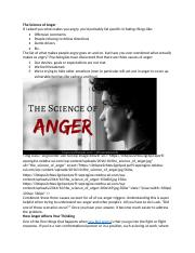 Science of anger.docx