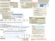 Exam 1 Cheat Sheet Forecasting and Capacity Planning