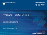 AYB225 Lecture  06 Sem 2  2015
