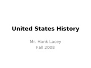 United-States-History-Fall-Semester-Review