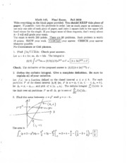 Exam Solutions (37)