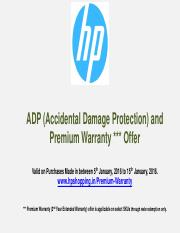 Terms and Conditions of Premium Warranty Offer