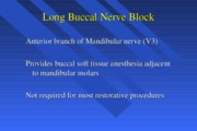 Mandibular Nerve block (Other techniques)