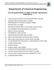 Mass Transfer Lab Manuals.doc