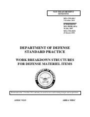 Military-Standard-881C-----Department-of-Defense-Standard-Practice-----Work-Breakdown-Structures-for
