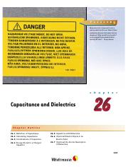 26 - Capacitance and Dielectrics.pdf