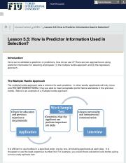 Lesson 5.5: How is Predictor Information Used in Selection? &....pdf