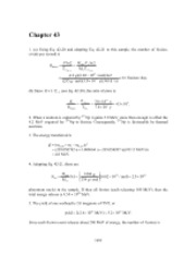 PHY2049 Chapter 43 Solutions