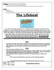 The Lifeboat Activity.docx