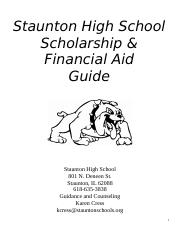 Scholarship & Financial Aid Guide