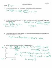 PHYS 2326 Exam 1 Solutions Spring 2017.pdf