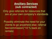 Lecture Topic 10 - Ancillary Services