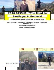 2016 PASSHE PACKAGE