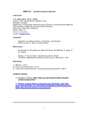 BME_501_Cardiovascular_Physiology_Syllabus_1_8_07