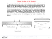 Lecture #09 Design of Reinforced Concrete Structures