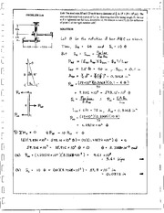 93_Mechanics Homework Mechanics of Materials Solution
