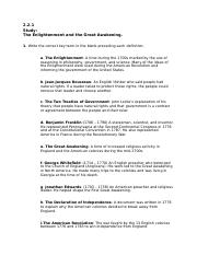 2.2.1 Study: The Enlightenment and the Great Awakening..docx