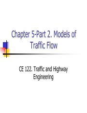 ch05_part 2-traffic_flow_models