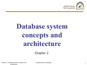 Chapter2_Database system concepts and architecture