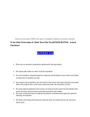 Liberty University THEO 104 quiz 2 complete solutions correct answers