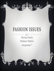 Fashion Issues.pptx