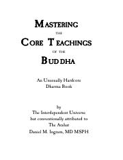 Mastering The Core Teachings Of The Buddha.pdf