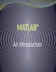 LAB1_Introduction to MATLAB