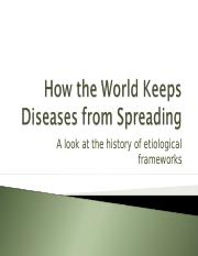 Lesson 4 - How the World Keeps Diseases from Spreading lesson 1.ppt