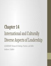 Ch 14 PPT Cultural aspects of leadership.pdf