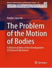 Danilo Capecchi  The Problem of the Motion od bodies.pdf