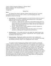 top tips for writing an essay in a hurry the tipping point essay title length color rating the tipping point essay the tipping point what can one consider being a tipping point in a situation