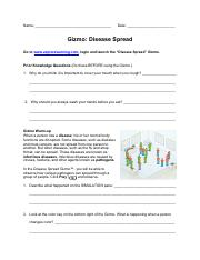 A At what time did the disease spread most slowly Most ...
