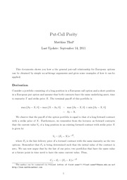 DM3-Put-Call Parity