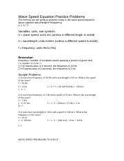 Wave-Speed-Worksheet (1).docx - Wave Speed Equation ...