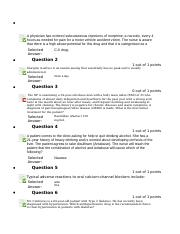Pharmacology Midterm Test.docx