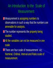 8781_4185_ Measurement,Reliability&validity_PGDM _13-14