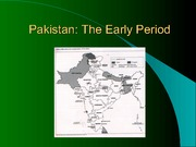 412-Pakistan 2-Early Period