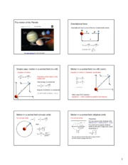 Physics planetary motion