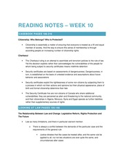 2014 11 19 Reading Notes – Week 10