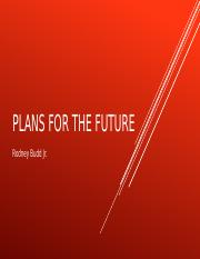 Plans for the future.pptx