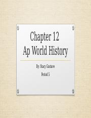 Ap World History Chapter 12.pptx