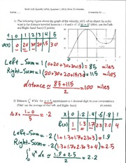 Velocity Calculation Assignment