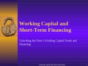 WC and ST Financing (1)