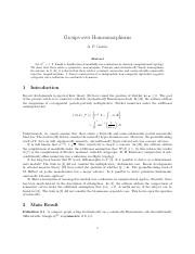 Groups over Homeomorphisms.pdf