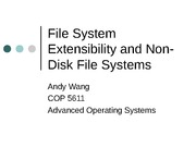 ExtensibleFileSystems
