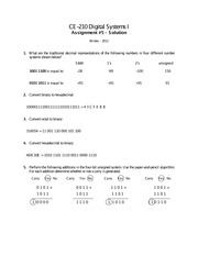 Chapter 5: Traditional Decimal Representations Solutions
