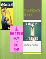 Intro Mid review.ppt