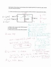 Fall 216IN Exam 2 solutions