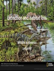 L8 Extinction and habitat loss notes.pptx