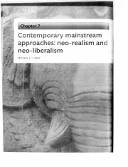 READING for Neo-Realism_Steven Lamy_Contemporary Mainstream Approaches